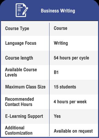 Anglokom Corporate Language Training Bangkok - Business Writing in English