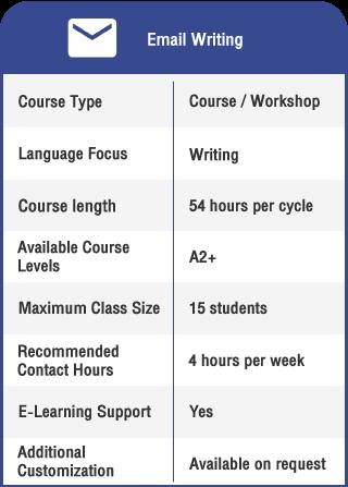 Anglokom Corporate Language Training Bangkok - English for Email Writing Info