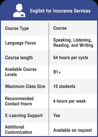 Anglokom Corporate Language Training Bangkok - English for Insurance