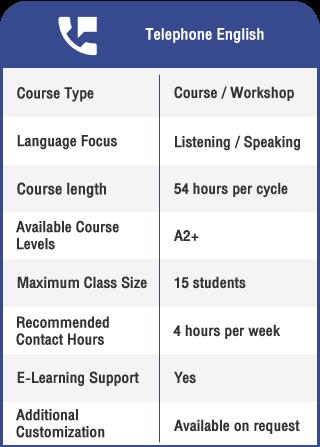 Anglokom Corporate Language Training Bangkok - Telephone English